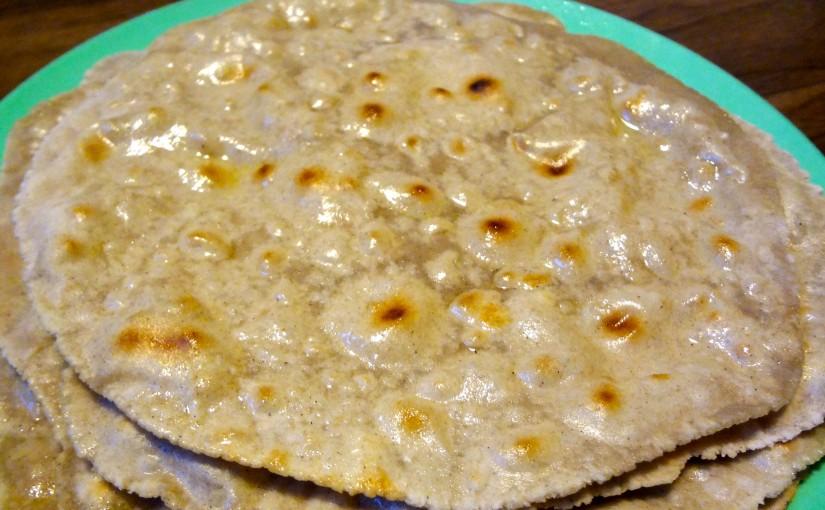 Buckwheat Flour Chapati