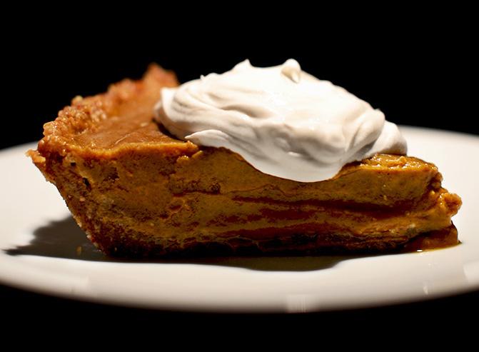No Bake Pumpkin Pie | Minimalist Baker