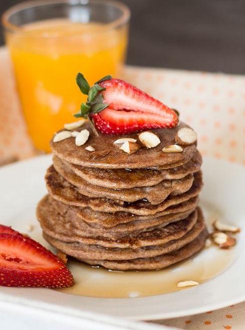 Gluten Free Buckwheat Pancakes | lazycatkitchen.com