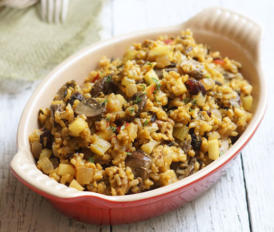 No Bread Stuffing | detoxinista.com