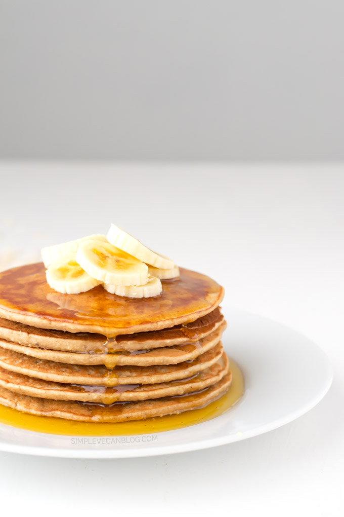 Vegan Gluten Free Pancakes | simpleveganblog.com