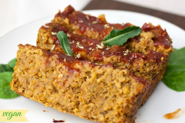 Vegan Lentil Loaf | produceonparade.com