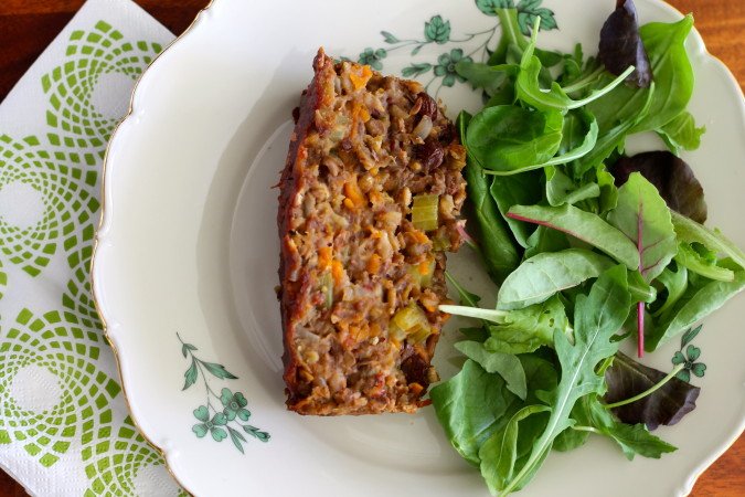 Vegan Lentil Loaf | themuffinmyth.com