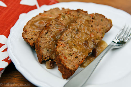 Vegan Meatloaf | blog.fatfreevegan.com