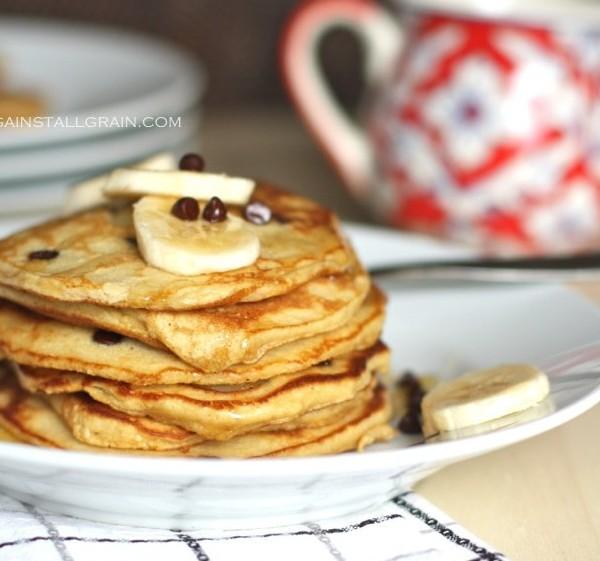 Banana Pancakes | againstallgrain.com
