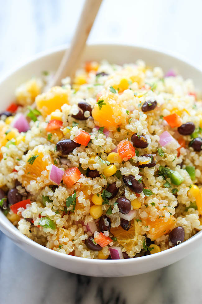 Real Simple Quinoa Salad - 12 Vegan Recipes Packed with Protein ...