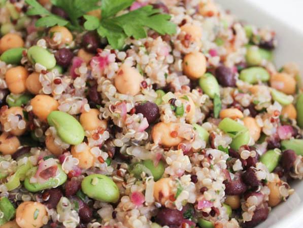 Quinoa Salad | Domesticate me