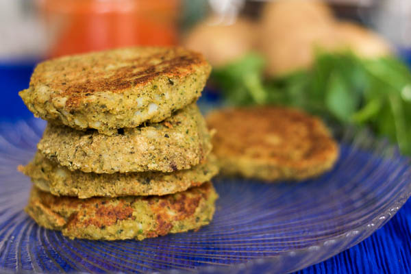 Chickpea Pattie Recipe | happygut.ca