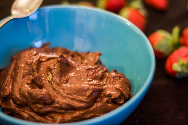Recipe for Chocolate Pudding Made with Avocado