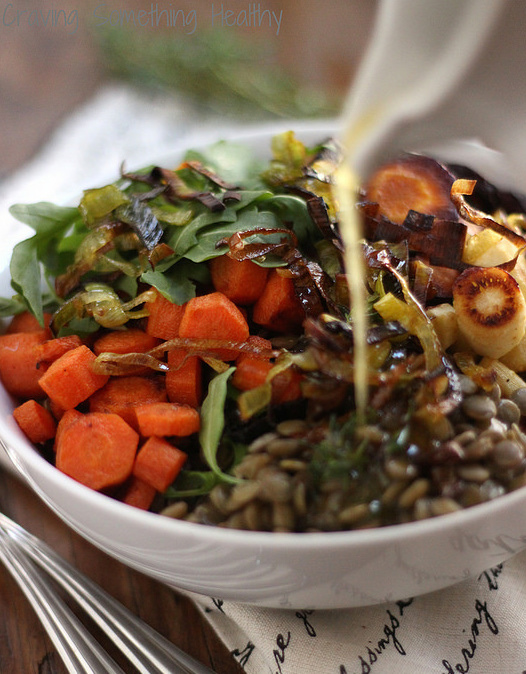 Lentil Salad | Craving Something Healthy