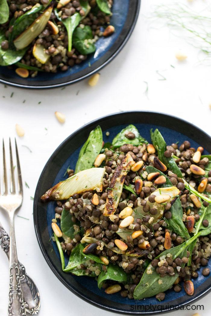 Lentil Salad | Simply Quinoa