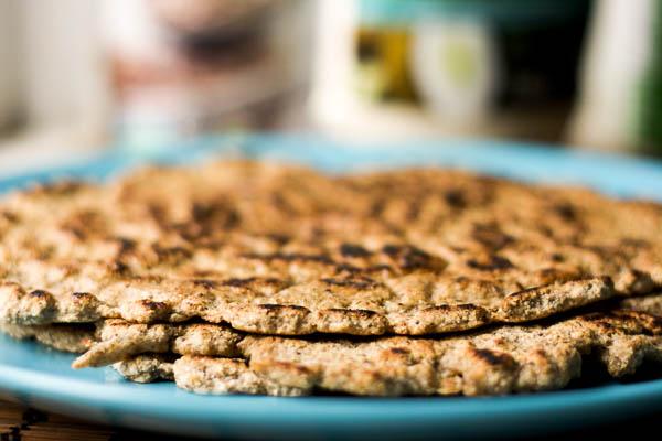 Paleo Coconut Flour Naan | happygut.ca
