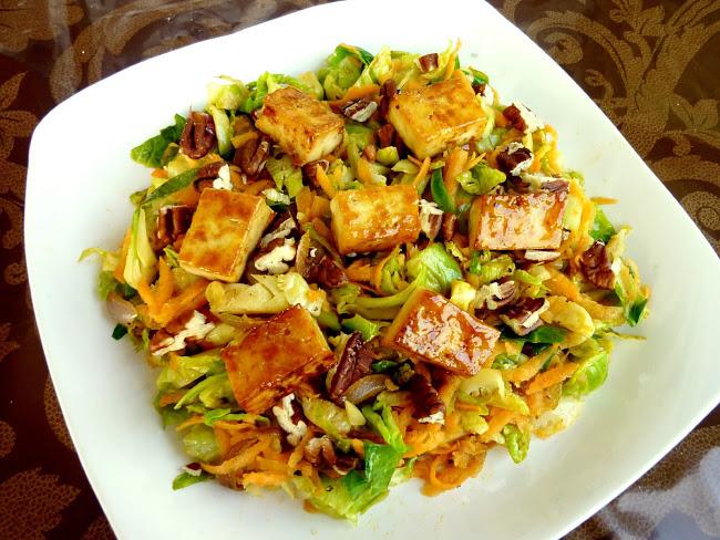 Tofu Salad | Vanilla & Spice