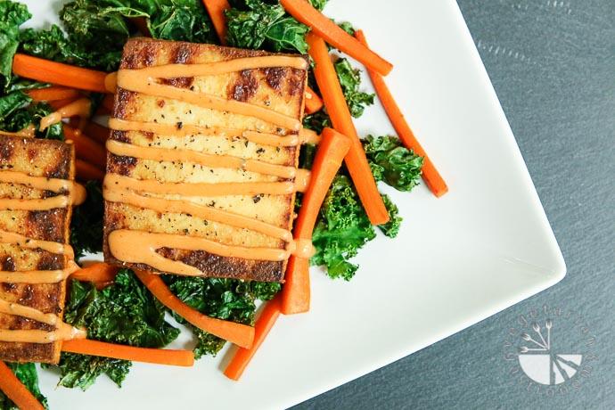 Tofu Salad | Vegetarian Gastronomy