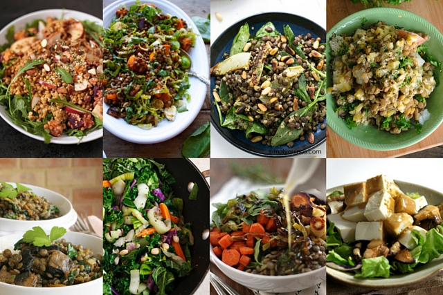 Vegan Winter Salads | Happygut.ca
