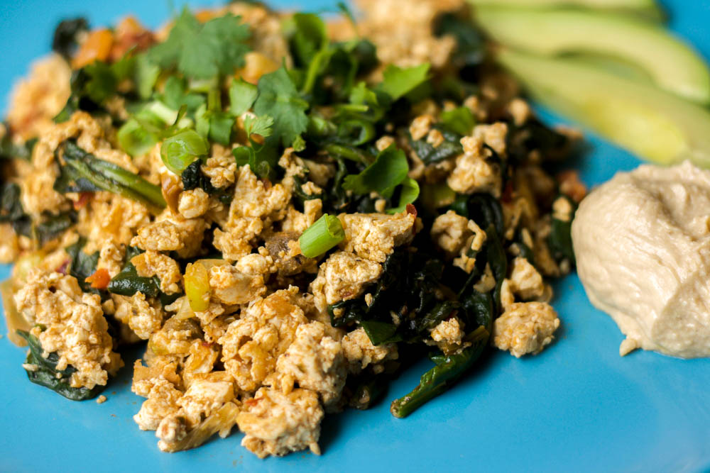 Tofu Scramble Recipe Nutritional Yeast