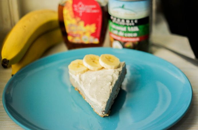 Vegan Banana Cream Pie Recipe
