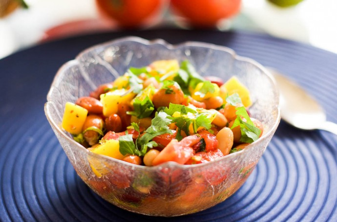 Canned Mixed Bean Salad Recipe
