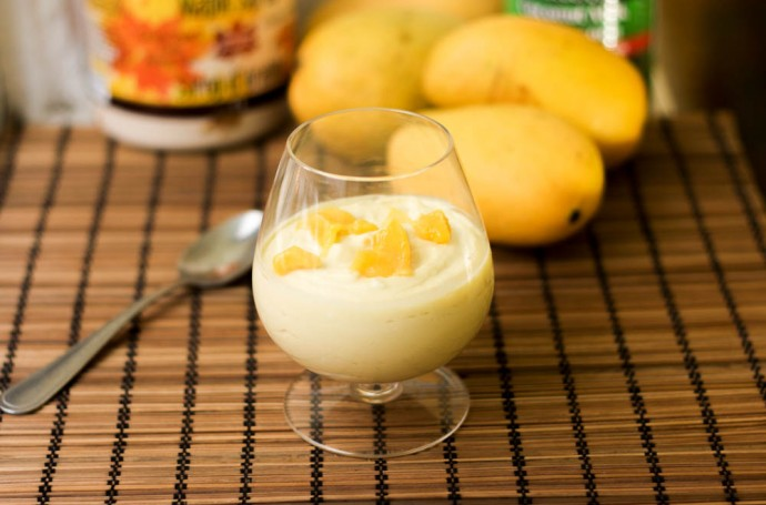 Mango Mousse Vegan