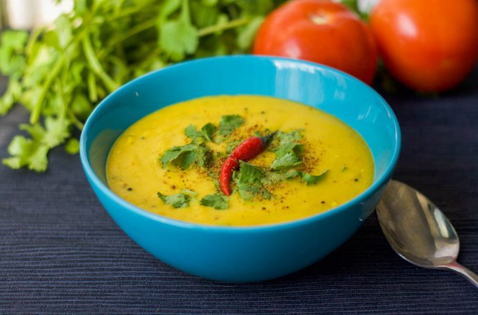 Dry Yellow Moong Dal Recipe