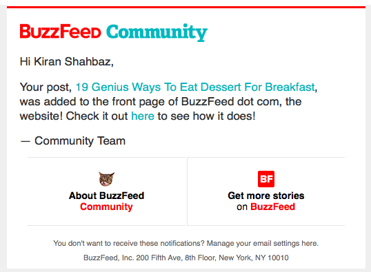 How I got onto the front page of BuzzFeed 6 times