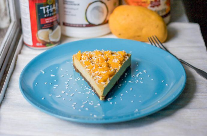 Vegan Mango Cheesecake Recipe