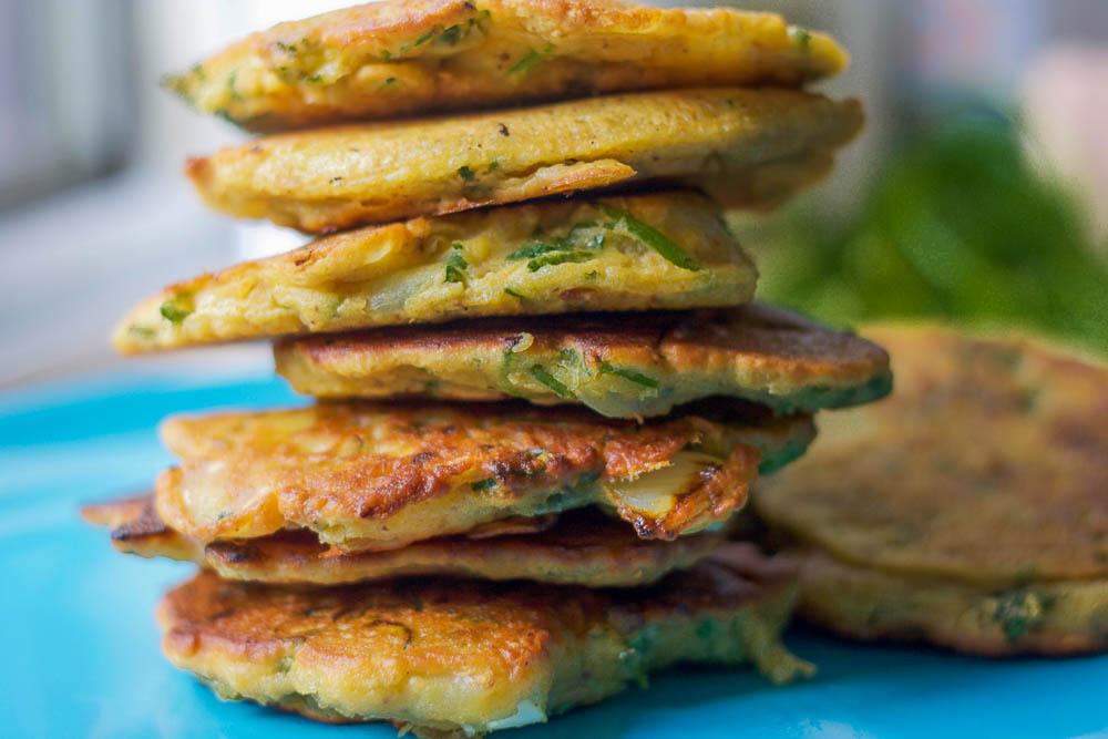 Flourless Zucchini Fritters