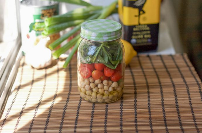 Lunch in a Mason Jar Recipes